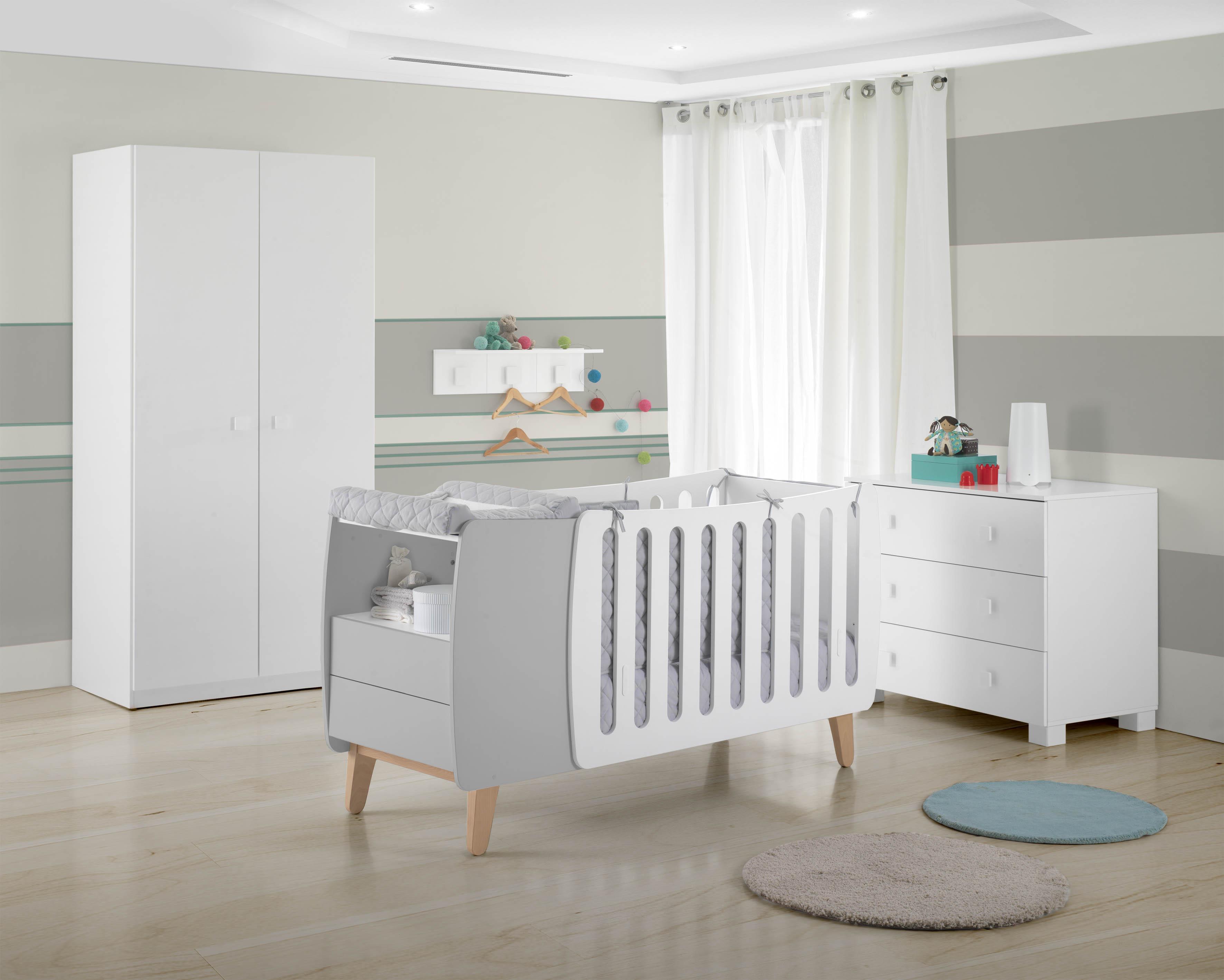El cuarto del beb un lugar alegre tranquilo y seguro - La habitacion del bebe ...